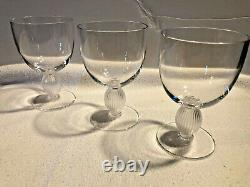 Lalique Crystal Langeais Wine Glass No. 4