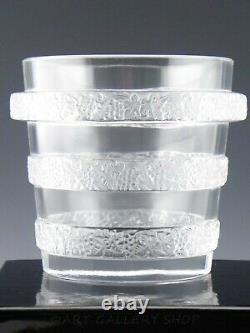 Lalique France Crystal RICQUEWIHR RIQUEWIHR GRAPES WINE COOLER ICE BUCKET