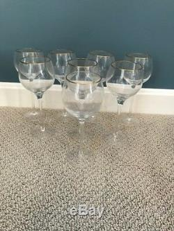 Lenox Eternal Gold Signature Crystal Wine Glass- set of 8 New