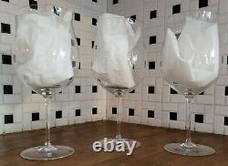 Lot of 3 Riedel Sommeliers Burgundy Grand Cru Wine Glass