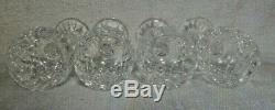 Lot of 4 Waterford Crystal Lismore Wine Hock Glasses 7 1/2