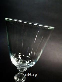 Luxe MOSER Lead Free Crystal MOZART 6 6.25 Small Wine Goblets