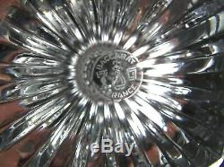 MASSENA by BACCARAT Crystal 6 3/8 Claret Red Wine Glass (es) EXCELLENT