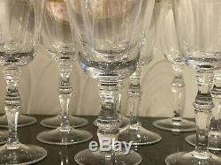 Moser Lead Free Crystal Mozart Red Wine Glasses Set of 12
