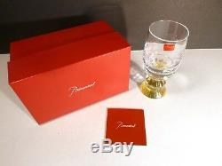 NEW Baccarat Crystal VARIATIONS (2013-) Yellow White Wine Glass 6 Made France