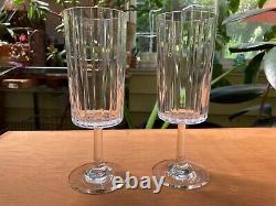 PAIR OF BACCARAT Bordeaux Wine Harmonie Glasses