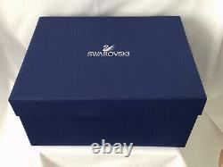 Pair (2) Swarovski Crystalline Cocktail / Martini Glasses In Original Box
