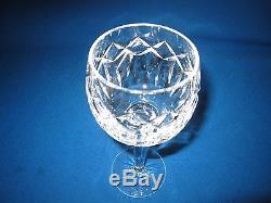 Pair Waterford Crystalpatrickwine Hock, 7h, Price/pair, Excellent Condition