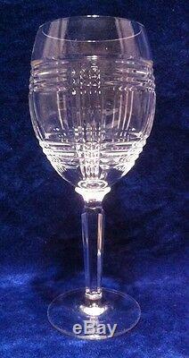 8734331ca22 Ralph Lauren GLEN PLAID Crystal 8 1/4 Wine Glass