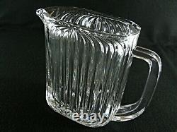 Rare Antique BACCARAT 2 Kilos Finest Flawless Crystal Wine / Juice Pitcher