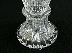 Rare Antique BACCARAT Crystal Amphora Wine Pitcher with Gilding & Snake Handle