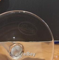 Rare Moser Crystal Splendid Hock Wine Glass 7 1/2'