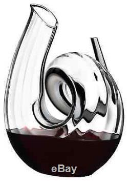 Riedel Fatto A Mano Curly Wine Decanter 2011/00 NEW
