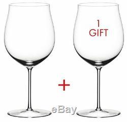 Riedel Sommeliers Burgundy Grand Cru 2 Piece Wine Glass Value Set 2440/16 NEW