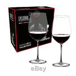 Riedel Sommeliers Value Set Bordeaux Grand Cru Glasses Set Of 2