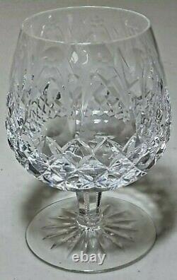Rogaska Queen Crystal Brandy Goblet Snifters Glasses SET OF 5