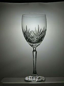 Royal Albert Cut Glass Crystal Wine Glasses/water Goblets Set Of 6 8 1/4 Tall