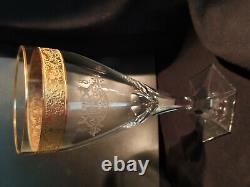 Rrr 1918 Splendid Crystal Moser Wine Glass Cs Coat Of Arms From President Set