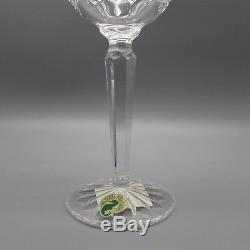 SET OF FOUR Waterford Crystal LISMORE Hock Wine Glasses