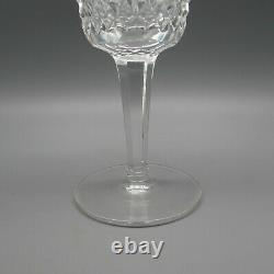 SET OF SIX Waterford Cut Crystal ALANA Claret / Red Wine Glasses