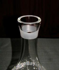 SPECIAL EDIT. ROSENTHAL WINE CARAFE LEAD CRYSTAL DECANTER VERSACE (New-No box)