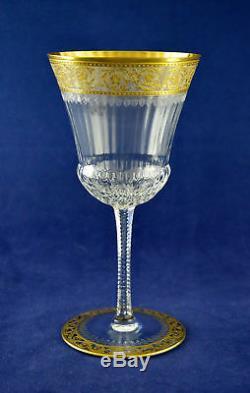 Saint Louis Crystal THISTLE Wine Glass 16.3cms (6-3/8) Tall
