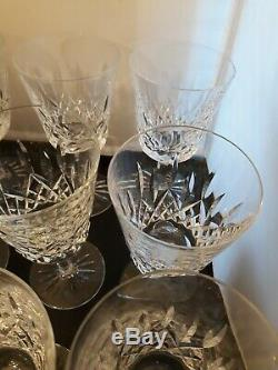 Set 9 Waterford Lismore 6-7/8 Water or Wine Goblet Stems