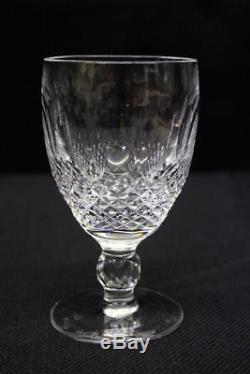 Set of 10 Waterford Crystal COLLEEN Short Stem Wine Glasses Water Goblets