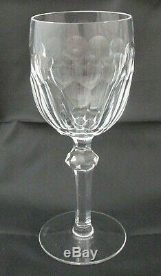 Set of 4 Waterford Crystal Curraghmore Water Goblets Wine Glasses- Excellent