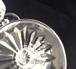Set of 4 Waterford Crystal Innisfail 6 3/8 Claret Wine Glasses, NEW