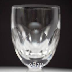 Set of 6 Waterford Kathleen Crystal Claret Wine Glasses 4 7/8