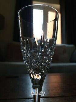 Set of 8 Edinburgh Crystal SILHOUETTE wine glasses Size 6 7/8 High