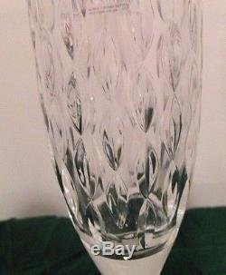 Set of (8) RALPH LAUREN Aston Crystal Champagne/ Wine Glasses/ Flutes New
