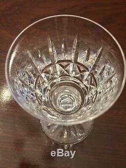 Set of 9 Vintage WATERFORD CRYSTAL Kylemore 9 oz Water Wine Glasses Goblets