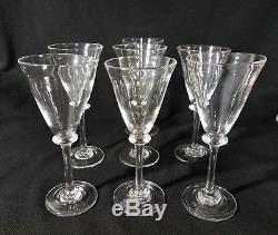 Simon Pearce CAVENDISH Water Wine Glass Set Of 7