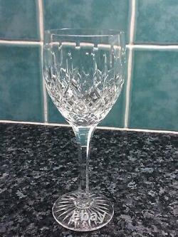 Six Stuart Crystal Shaftesbury Large Wine Glasses