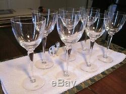 St Louis Crystal 225 Anniversary Continental 7 Pieces The Finest