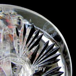 St Louis Crystal Florence Wine Decanter Pineapple Cut 15 1/2