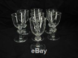 Steuben 7925 Set Of 7 Sherry Glasses Estate Find