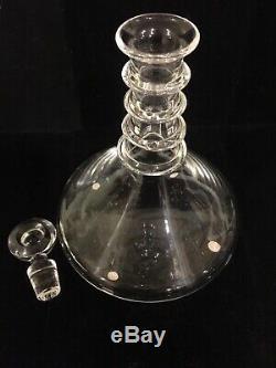 Steuben Crystal WineOr Liqueur Decanter