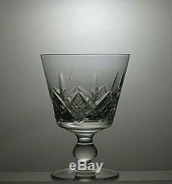 Stuart Crystal Glengarry Cut 10oz Water Goblets Glasses Set Of 4 5tall