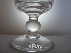 Stuart Crystal Imperial Cut Water/Wine Glasses x6, h11,5cm, NOT signed
