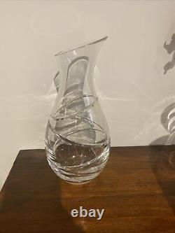 Stuart Crystal Jasper Conran Aura Carafe Decanter Pitcher Wine Port Heavy