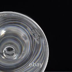 Stuart Crystal Strata By Jasper Conran 6 X Tall Wine Glasses 8.25 Inches