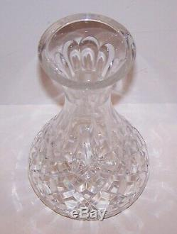 Stunning Signed Waterford Crystal Lismore 9 Wine Carafe