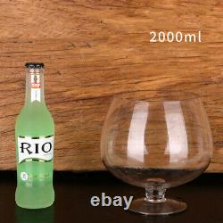 Super Big Crystal Glass Brandy Glasses Drink Snifters Bar Wine Drinkware