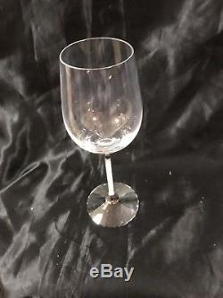 Swarovski Crystal Crystalline White Wine Glasses (Set of 2) NIB