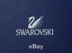 Swarovski Silver Crystalcrystaline Toasting Flutes S/2 Mint In Box 255678