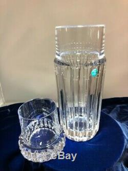 TIFFANY Atlas Crystal Decanter Carafe With Glass For Wine/Water. Hallmarked