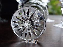 Thomas WEBB Crystal CHILTERN Cut Wine Glass / Set of 6